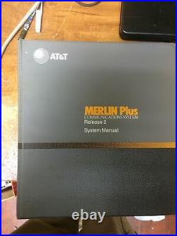 AT&T Lucent Avaya Merlin Plus 820D2 phone System