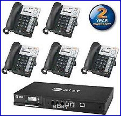 AT&T Synapse IP Business 4 PSTN Line Phone System with Voicemail