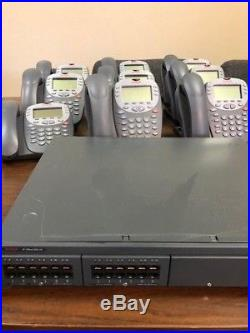 AVAYA IP Office 500 V2 VoIP phone system with9 5410 Digital Telephones