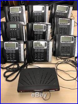 Allworx 6x VoIP Phone System with 10 handsets