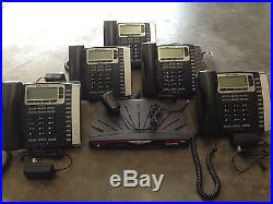 Allworx 6x phone System With 6 9212 Phones