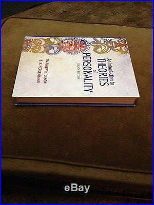 An Introduction to Theories of Personality by Matthew H. Olson, B. R