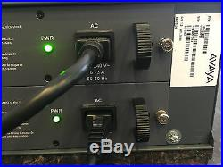 Avaya G450 Media Gateway With MB450, 2 X MM717 Modules and 2 Power Supplies