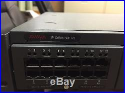 Avaya IP500 V2 Dig VoIP Phone System with 2 expansion cards and voicemail