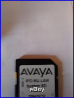 Avaya IP 500 V2 SD Card 700479710 with VMPRO/PRI16 /Power Users and more