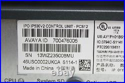 Avaya IP Office 500V2 Control Unit 700476005 With 700504556 Modules And Power Cord