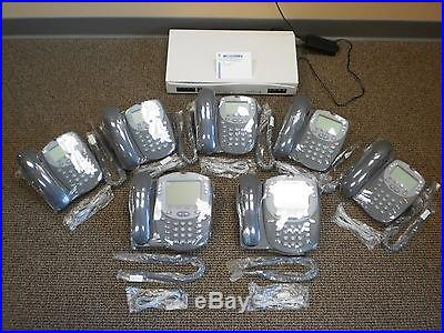 Avaya IP Office Business Voip Phone System 406 V2 with (7) 5410 and 5420 phones