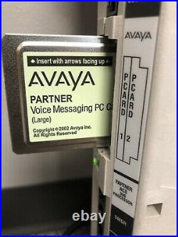 Avaya Partner 509ACS Processor R8 RHS 6/6 With Large Voicemail