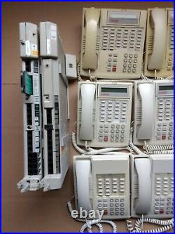 Avaya Partner Business Phone System ACS 509 with Voicemail and 15 telephones