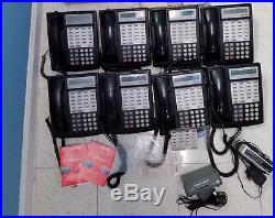 Avaya Partner System with 8 additional 18D Phones Free Shipping