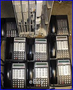 Avaya phone system ACS 509 voicemail and 8 phones