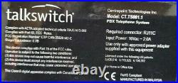 Centrepoint Talkswitch 484 VS CT. TS001.1 Phone System