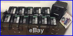 Complete Toshiba Strata CTX100 Business Phone System with 11 DKT phones