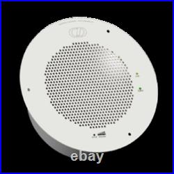 CyberData PoE SIP Ceiling Speaker for paging, notification and music. (011098)