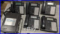 ESI IVX S-Class All-In-One Digital Phone System with 5 ESI-DEX phones