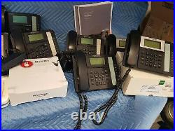 Fortinet FVC-100 Fortivoice PBX with 11 phones & Sonicwall firewall VOIP SET 7.31