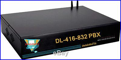 Hotel DL-424-832 DataLabsUSA PBX PABX Auto Attendant Phone System w/ PA Line Out