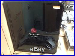 LOT of 5 POLYCOM CX7000 2201-28629-001 HD VIDEO CONFERENCING UNIT Power, Stand