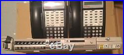 Lucent 103L5 Endeavor partner phone system with 6 phones, door phone and manuals