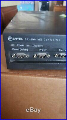 Mitel SX-200 MX Controller VoIP Phone System PBX 50004357 With T1