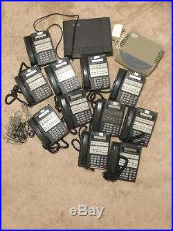 NEC DS1000 Phone System with NVM-2e Voicebrick and 11 Nitsuko Phones