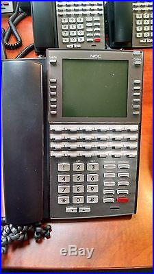 NEC DSX80 Business Phone System with15 Handsets, Expanded Voicemail and Conference