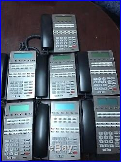 NEC DSX80 Phone System with 7 DSX 22B phones and 2 DSX 34B (9 total)