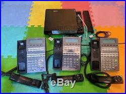 NEC DSX-40 Key Telephone System with 3 DSX 22B Phones