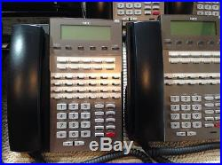 NEC DSX-80 Phone System with 8 Phones
