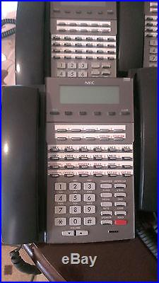 NEC DSX-80 Phone system 8H Voicemail with 11 NEC DSX Telephones