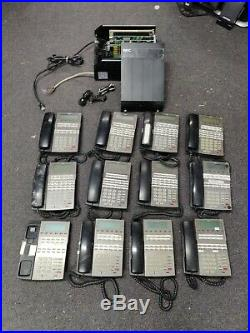 NEC DSX-80 (all Cables & Wires) with 6 DSX 34B & 6 DSX 22B Phone Stations