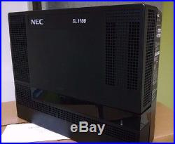 NEC SL1100 with 12 Display Phones and Advanced VoiceMail System