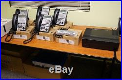 NEC SL1100 with 6 Display Phones and Advanced VoiceMail System