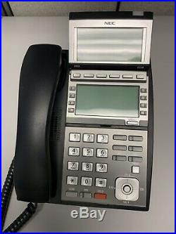 NEC UX5000 19-inch 6-blade Phone System with 8 Desiless Phones and Install Cable