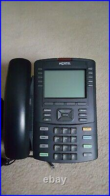 NORTEL BCM50 R5 4x8x4x2 +VM16 With EXPANSION CAB + WALL MOUNTS + (5) PHONES
