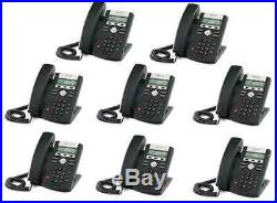 New Asterisk VoIP Small Business PBX w 8 SIP Polycom Phone Telephone System