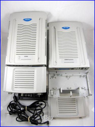 Nortel Avaya BCM50 NT9T6500 VoIP Phone System W/EXPANSION Mod NT9T6410 #07022
