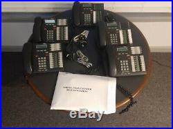 Nortel Norstar CICS 6.1 Telephone System with 5-T7316 phones and CallPilot
