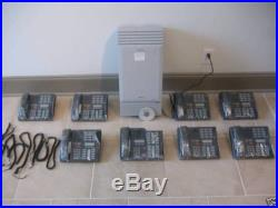 Nortel Norstar MICS Office Phone System Meridian M7310 System Package w 8 sets