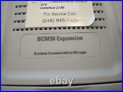 Nortel Phone System T7316E T7100 BCM50 Business Communications Manager Expansion