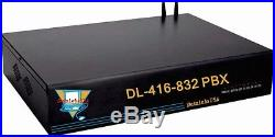 PBX / PABX OFFICE Telephone System Voice Mail + MOH vonage comcast or copper