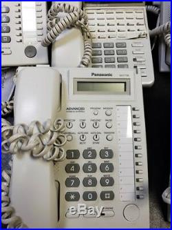 Panasonic Electronic Modular Switching System Office Phones 10 Phones with System