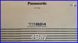 Panasonic KX-TA824 Advanced Hybrid Expanded System 6 Line 16 Extensions. Working