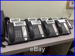 Panasonic KX-TDA50G With Voicemail & 9 Phones, 1 Expansion Module