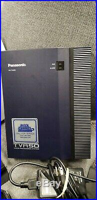 Panasonic KX-TDA50 Phone System with KX-TVA50 Voicemail Sys. &17 KX-T7630 Phones