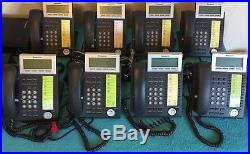 Panasonic Phone System KX-NT346 Phones, KX-TVA50 Voicemail System, PoE Injector
