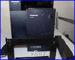 Panasonic phone system KX-TDA100 with caller ID and KX-TVA50 voicemail