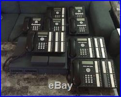 Phone System Avaya IP500 V2 with 8 phones & 3 Expansion Modules voicemail