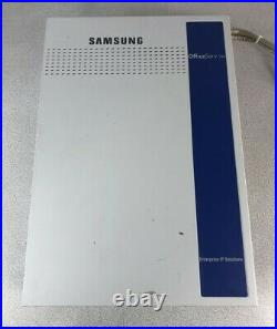 Samsung OfficeServ 100 Phone System KP100DM1/XAR withCards POWER TESTED ONLY