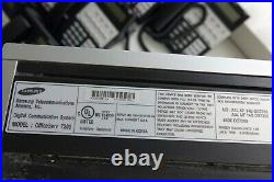 Samsung OfficeServ 7200 System with 20 iDS 18D Telephones